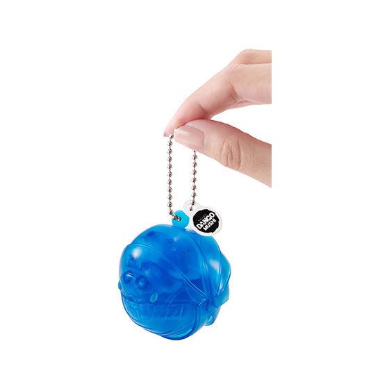 バンダイ 生き物カプセル だんごむし まるまるスイング 冬の透明色 クリアブルーのだんごむし