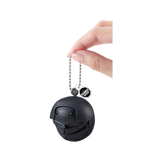 バンダイ 生き物カプセル だんごむし まるまるスイング 冬の透明色 黒いまんまるこがね