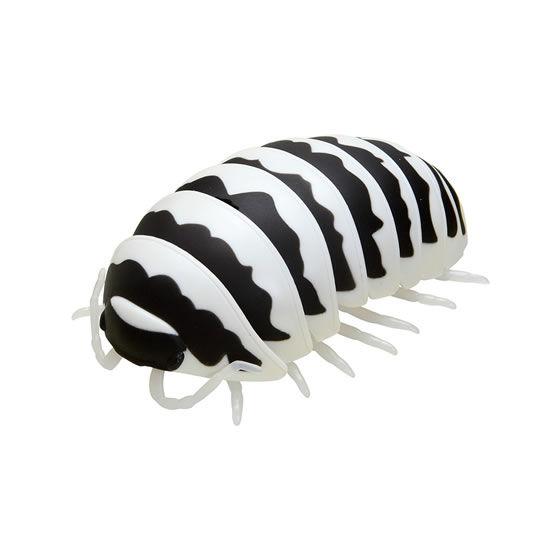 バンダイ 生き物カプセル だんごむし まるまるスイング だいおうぐそくむし ゼブラだんごむし