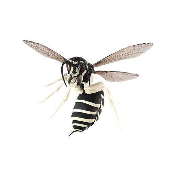 バンダイ 生き物カプセル すずめばち クロスズメバチ