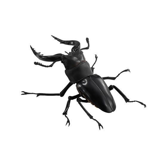 バンダイ 生き物カプセル くわがた ノコギリクワガタ(黒)