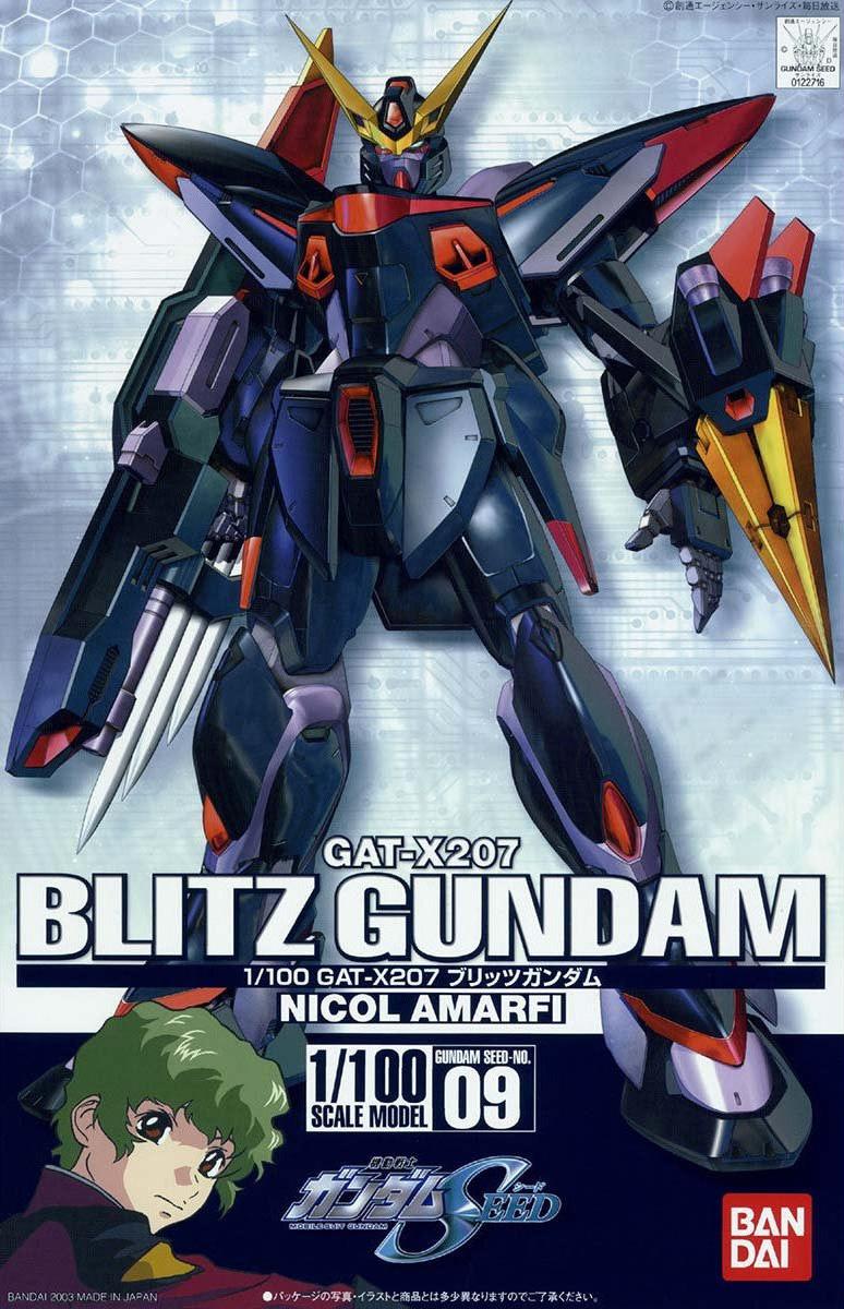 1/100 09 GAT-X207 ブリッツガンダム