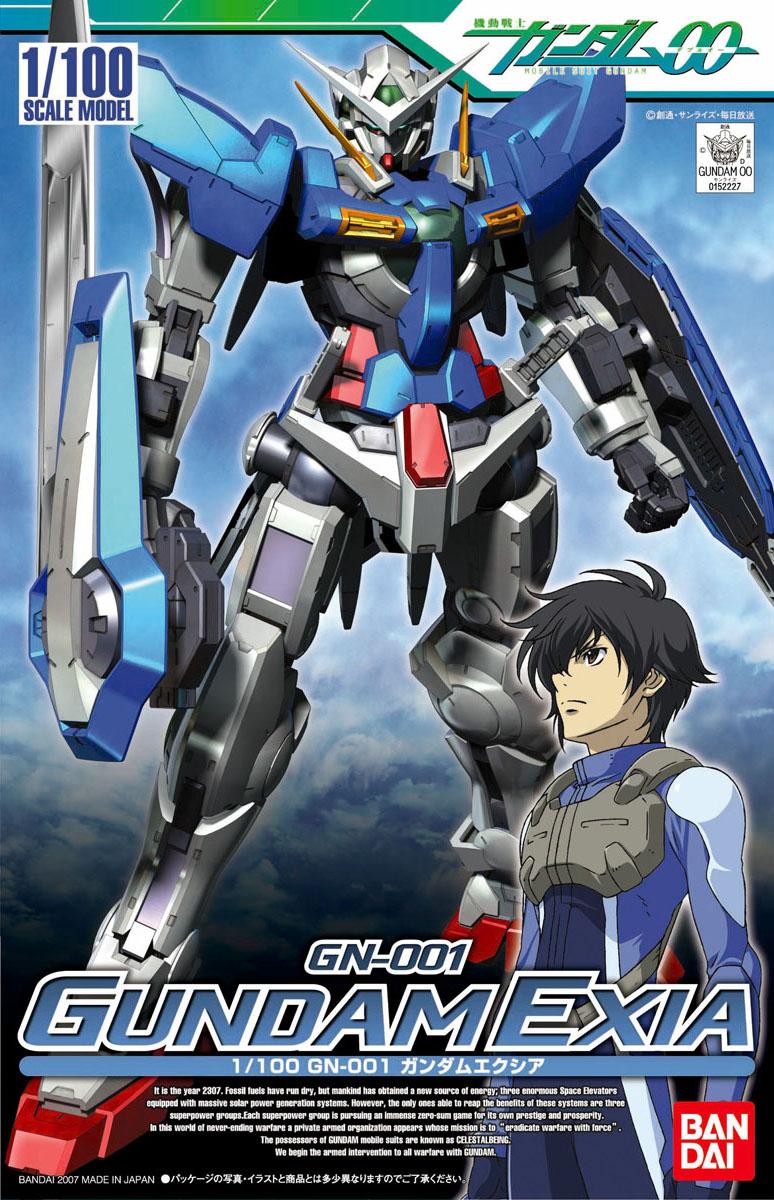 1/100 GN-001 ガンダムエクシア [Gundam Exia]