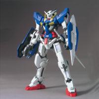 1/100 GN-001 ガンダムエクシア [Gundam Exia] 素組画像