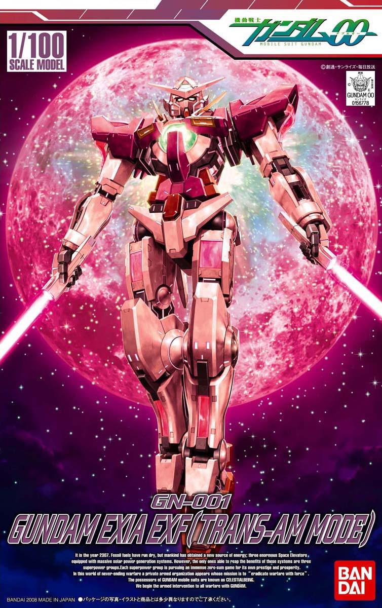 1/100 GN-001 ガンダムエクシア トランザムモード エクストラフィニッシュVer. [Gundam Exia (Trans-am Mode) EXF Ver.]