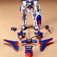旧キット 1/100 ガンダムF90-Pタイプ(大気圏突入仕様) [Gundam F90 P-Type] 公式画像1