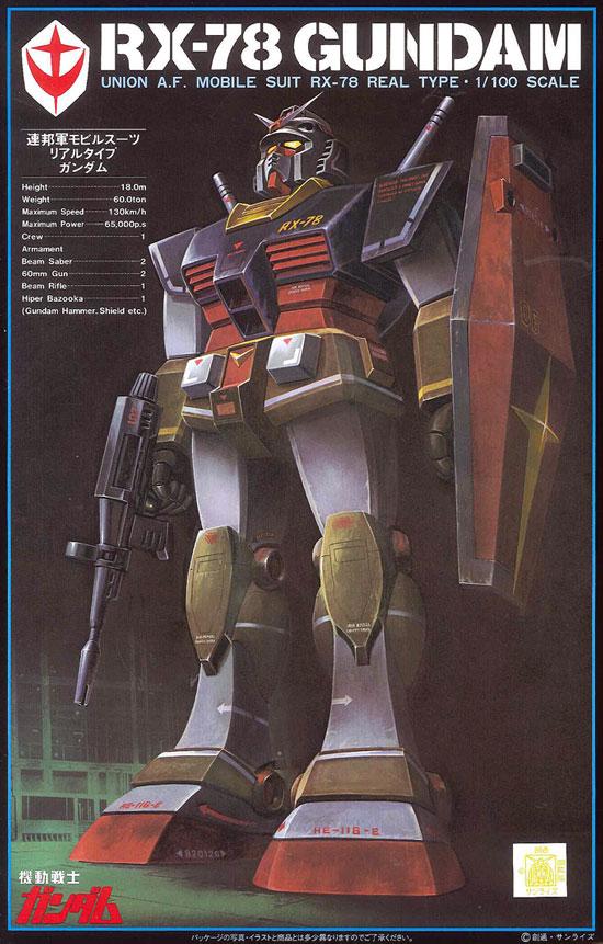 旧キット ベストメカコレクション 1/100 RX-78 リアルタイプ ガンダム [Best Mecha Collection Real Type Gundam] 0008727