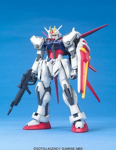 1/100 01 GAT-X105 エールストライクガンダム [Aile Strike Gundam]