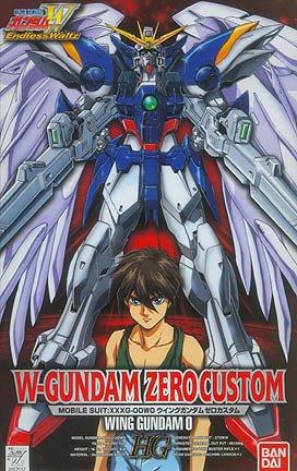 HG 1/100 EW-2 XXXG-00W0 ウイングガンダム ゼロカスタム [W-Gundam Zero Custom]