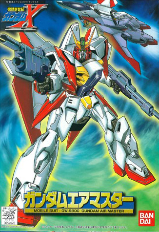 1/144 GW-9800 ガンダムエアマスター [Gundam Airmaster]