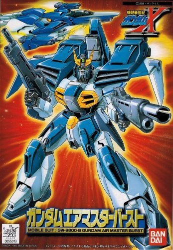 1/144 GW-9800-B ガンダムエアマスターバースト [Gundam Airmaster Burst] 4902425550138