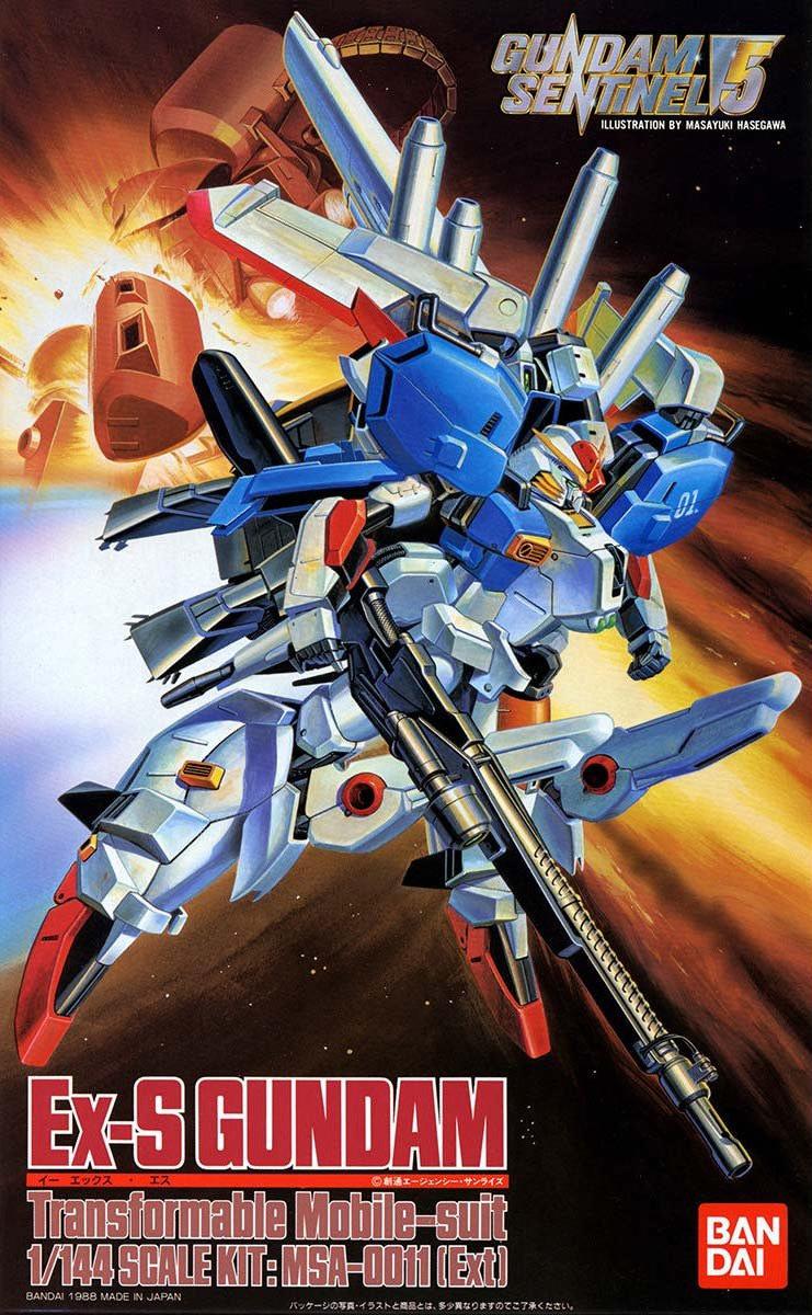 旧キット 1/144 MSA-0011[Ext] Ex-Sガンダム [Ex-S Gundam]