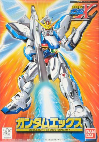 1/144 GX-9900 ガンダムエックス パッケージアート