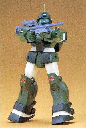 旧キット 1/144 RGM-79 ジムスナイパーカスタム [GM Sniper Custom]