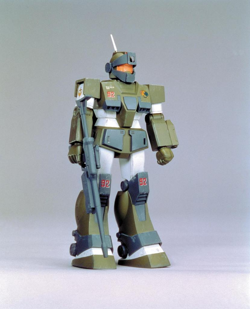 旧キット モビルスーツバリエーション(MSV) 1/144 RGM-79 ジム・スナイパー・カスタム [Mobile Suit Variations GM Sniper Custom]
