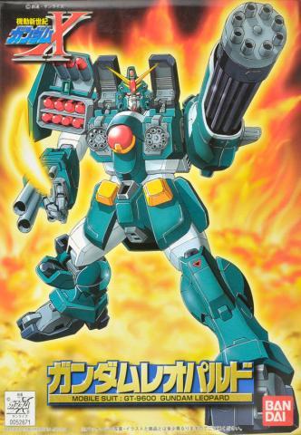 1/144 GT-9600 ガンダムレオパルド [Gundam Leopard] 0052671 4902425526713