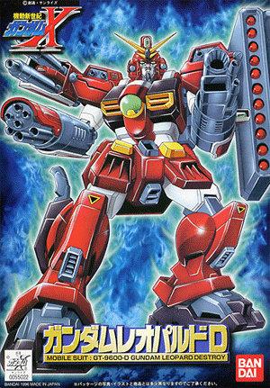 1/144 GT-9600-D ガンダムレオパルドデストロイ [Gundam Leopard Destroy] 0055022 4902425550220