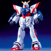 1/144 GF13-017NJ シャイニングガンダム [Shining Gundam] 公式画像1