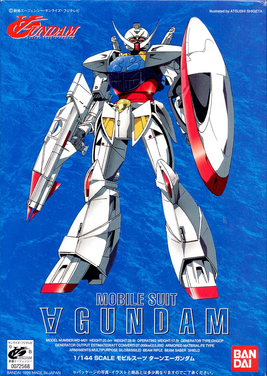 1/144 WD-M01 ターンエーガンダム [∀ Gundam]