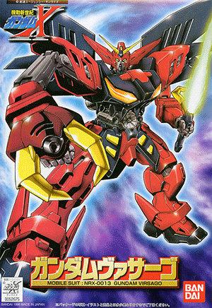 1/144 NRX-0013 ガンダムヴァサーゴ [Gundam Virsago]