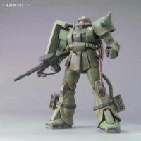 MG 1/100 MS-06J ザクII(重力戦線イメージカラーVer.) 公式画像3