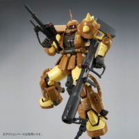 MG 1/100 MS-06R-1A マサヤ・ナカガワ専用ザクII [Masaya Nakagawa's Zaku II] 公式画像9
