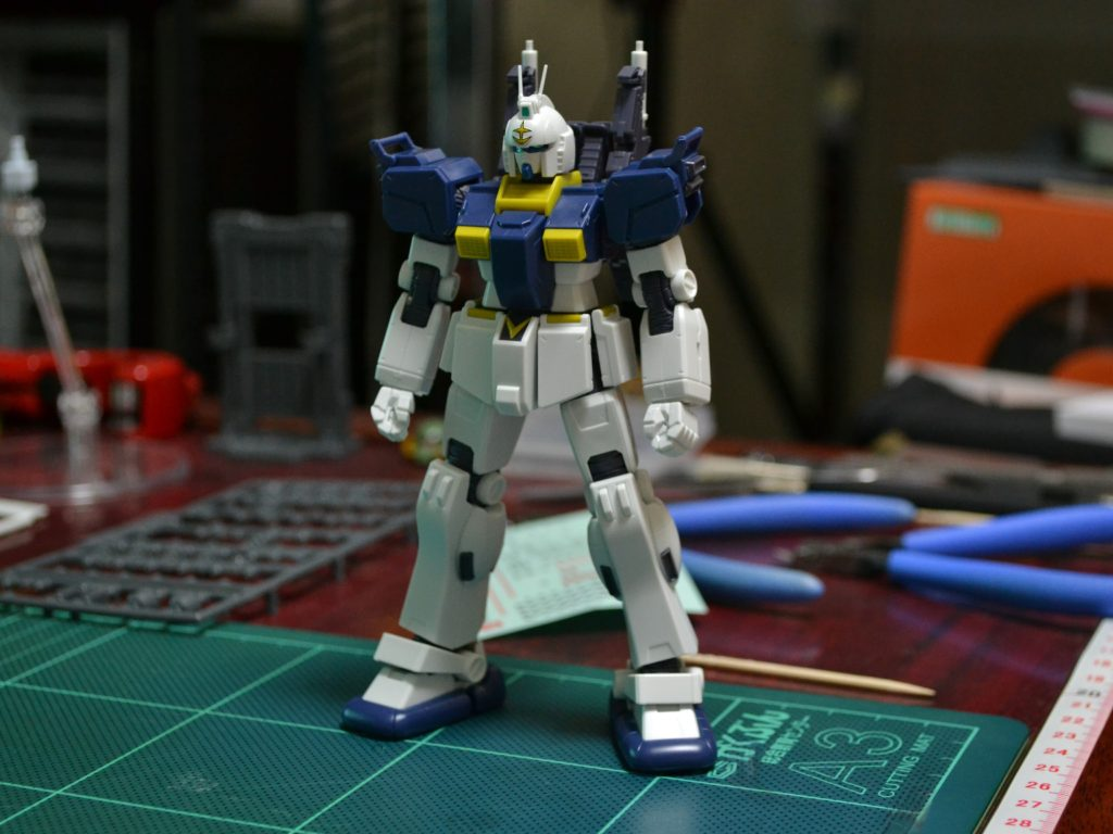 HG 1/144 RX-79[GS] 陸戦型ガンダム S型(GUNDAM THUNDERBOLT Ver.) [Gundam Ground Type S (Gundam Thunderbolt ONA Ver.)] 正面