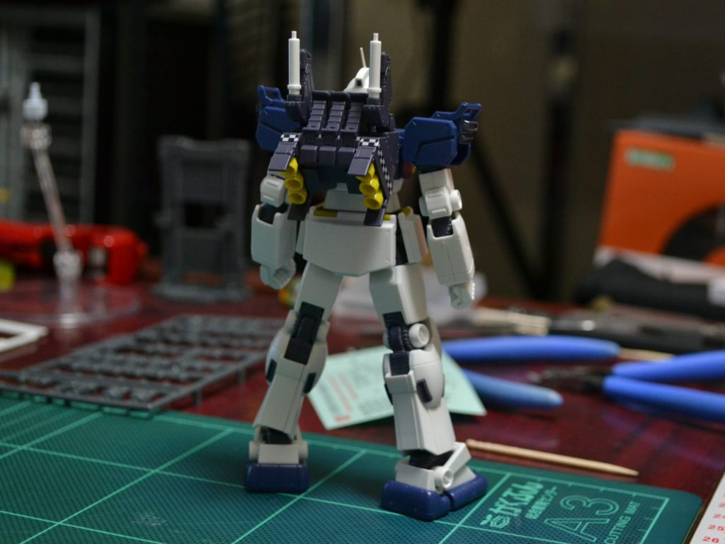 HG 1/144 RX-79[GS] 陸戦型ガンダム S型(GUNDAM THUNDERBOLT Ver.) [Gundam Ground Type S (Gundam Thunderbolt ONA Ver.)] 背面