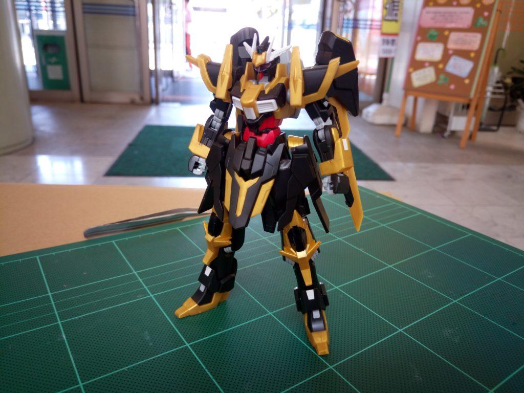HGBF 1/144 NK-13S ガンダムシュバルツリッター [Gundam Schwarzritter] 正面