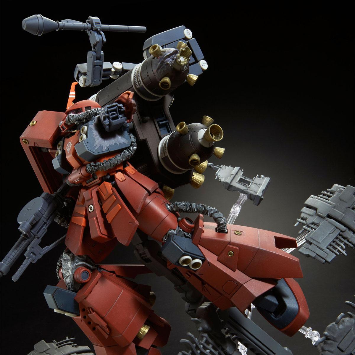 """MG 1/100 MS-06R 高機動型ザク """"サイコ・ザク"""" (GUNDAM THUNDERBOLT版) ラストセッションVer. [Zaku II High Mobility Type """"Psycho Zaku"""" (Gundam Thunderbolt) Last Session Ver.]"""
