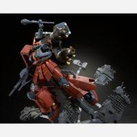 """MG 1/100 MS-06R 高機動型ザク """"サイコ・ザク"""" (GUNDAM THUNDERBOLT版) ラストセッションVer. [Zaku II High Mobility Type """"Psycho Zaku"""" (Gundam Thunderbolt) Last Session Ver.] 公式画像2"""