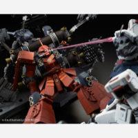 """MG 1/100 MS-06R 高機動型ザク """"サイコ・ザク"""" (GUNDAM THUNDERBOLT版) ラストセッションVer. [Zaku II High Mobility Type """"Psycho Zaku"""" (Gundam Thunderbolt) Last Session Ver.] 公式画像7"""