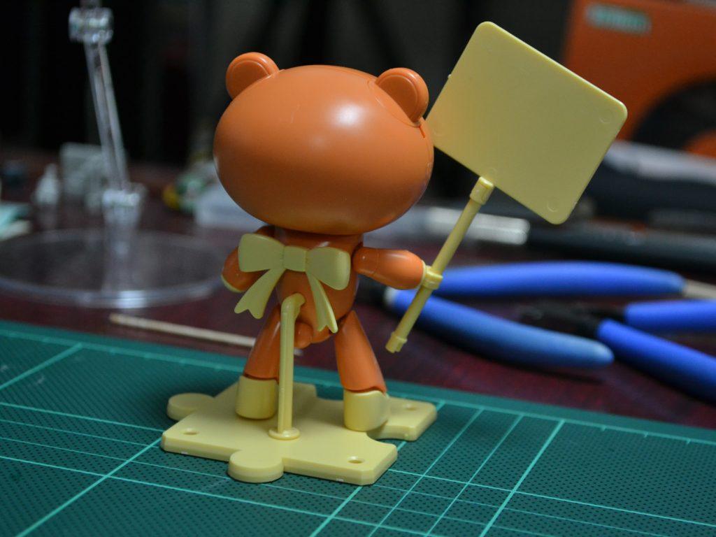 HGPG 1/144 プチッガイ ラスティオレンジ&プラカード [Petit'gguy Rusty Orange and Placard] 背面