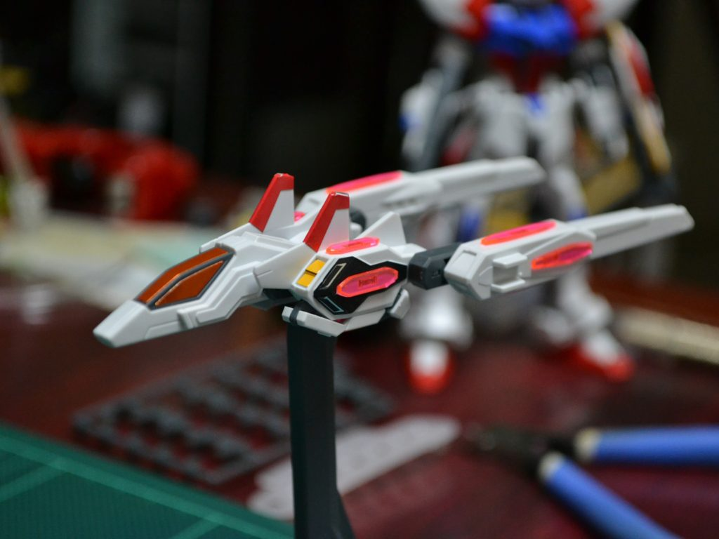 HGBF 1/144 GAT-X105B/ST スタービルドストライクガンダム プラフスキーウイング [Star Build Strike Gundam Plavsky Wing] 正面