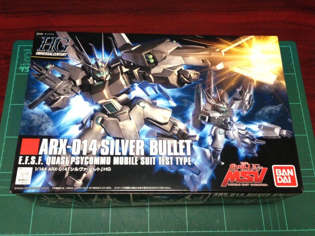 HGUC 1/144 ARX-014 シルヴァ・バレト [Silver Bullet] パッケージ