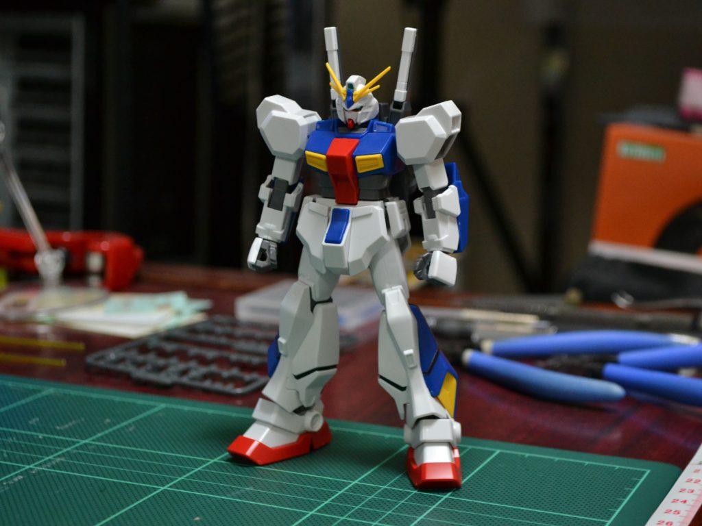 """HGUC 205 1/144 RX-78AN-01 ガンダム AN-01 トリスタン [Gundam AN-01 """"Tristan""""] 正面"""