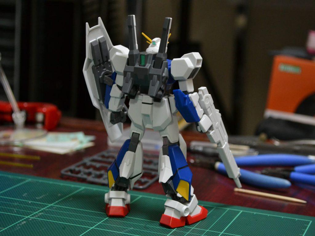 """HGUC 205 1/144 RX-78AN-01 ガンダム AN-01 トリスタン [Gundam AN-01 """"Tristan""""] 背面"""