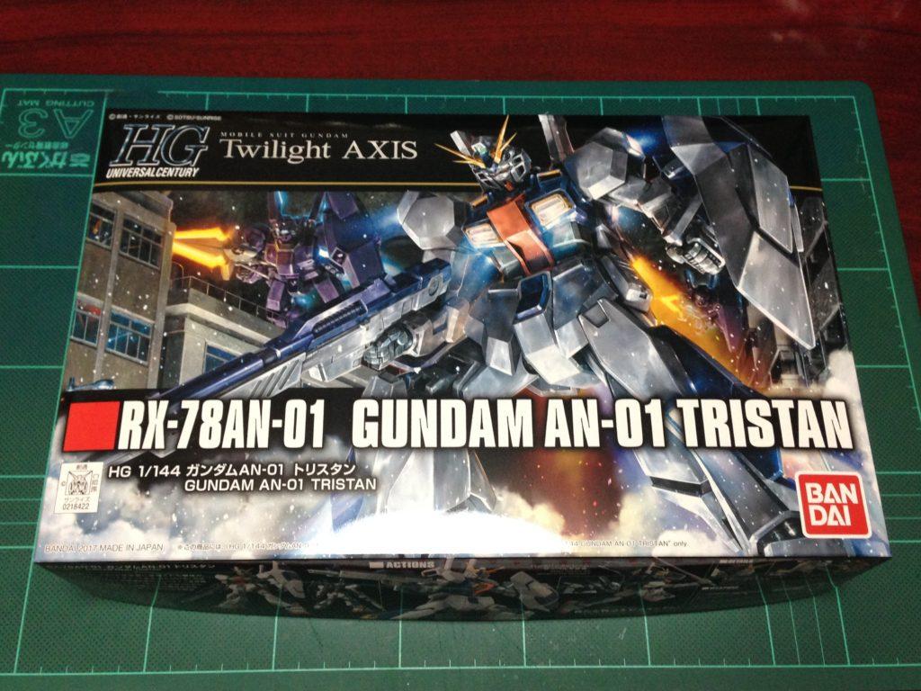 """HGUC 205 1/144 RX-78AN-01 ガンダム AN-01 トリスタン [Gundam AN-01 """"Tristan""""] パッケージ"""