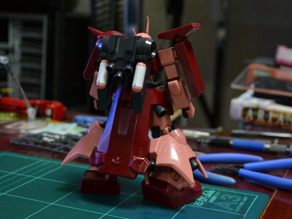 HGUC 1/144 AMX-011S ザクIII改(Twilight AXIS Ver.) [Zaku III Custom (Twilight Axis Ver.)] 背面