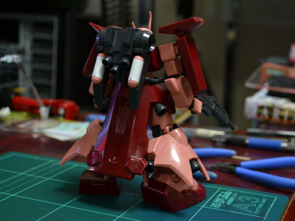 HGUC 1/144 AMX-011S ザクIII改(Twilight AXIS Ver.) 背面