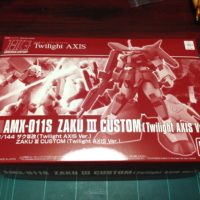 HGUC 1/144 AMX-011S ザクIII改(Twilight AXIS Ver.) [Zaku III Custom (Twilight Axis Ver.)]