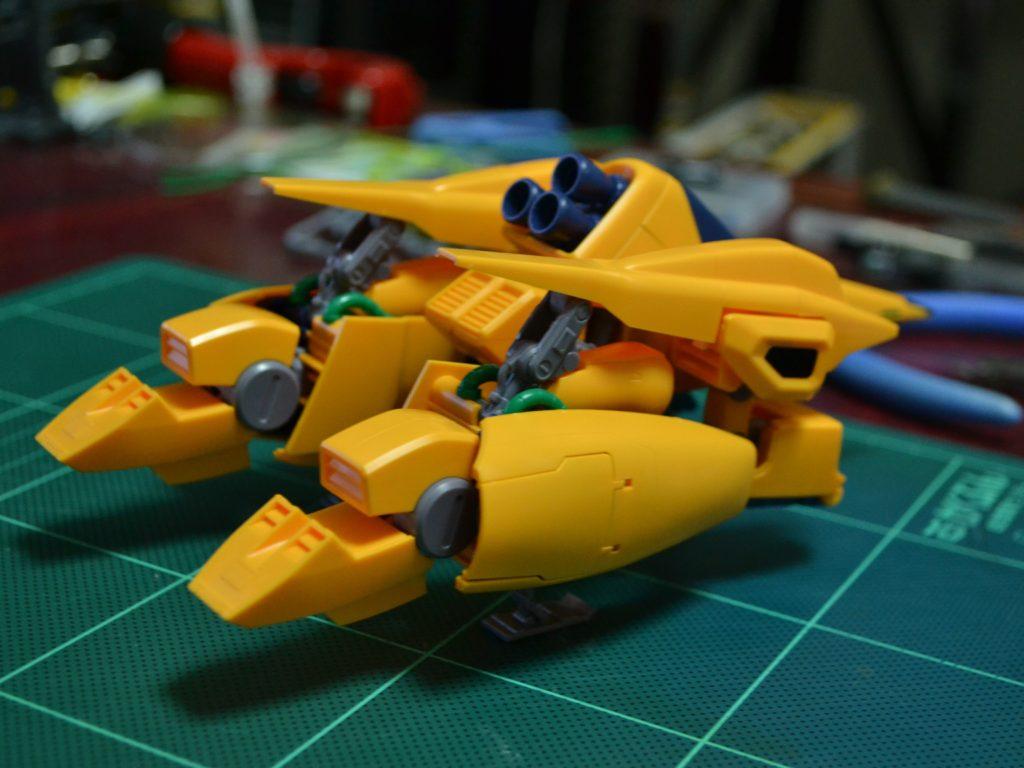 HGUC 1/144 MSA-005 メタス 背面