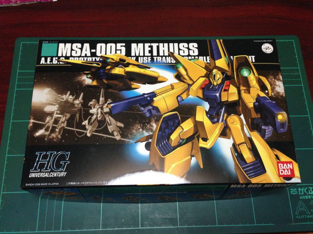 HGUC 1/144 MSA-005 メタス パッケージ