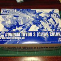 HGBF 1/144 ガンダムトライオン3 クリアカラーVer.