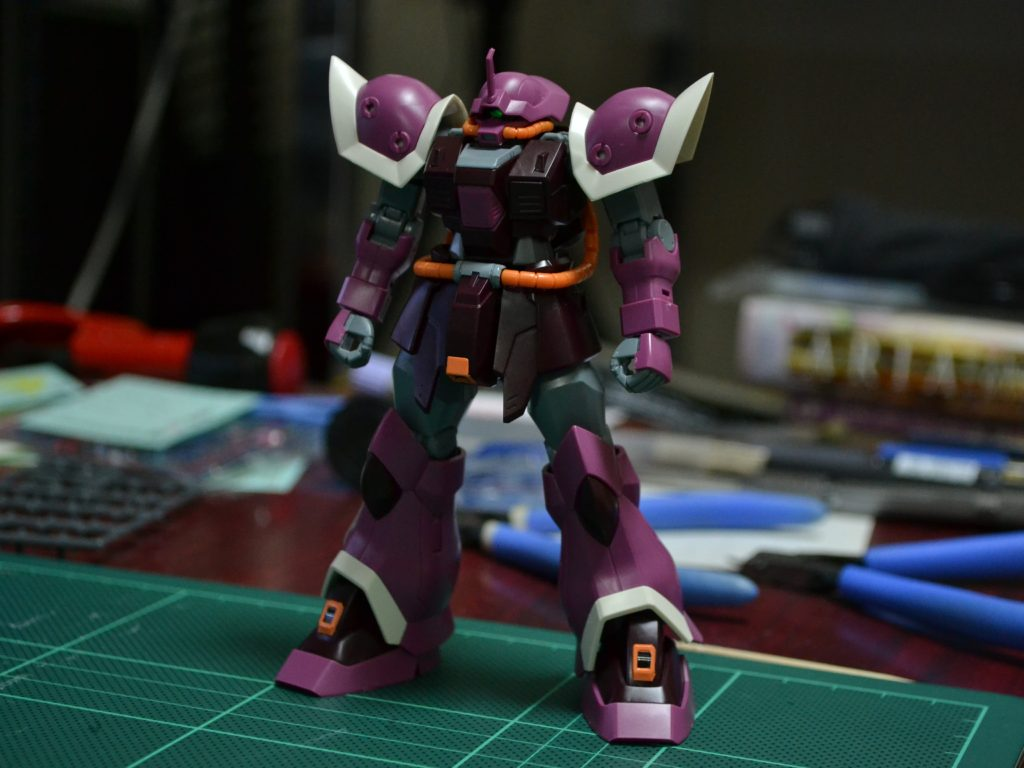 HGUC 206 1/144 MS-08TX/S イフリート・シュナイド 正面
