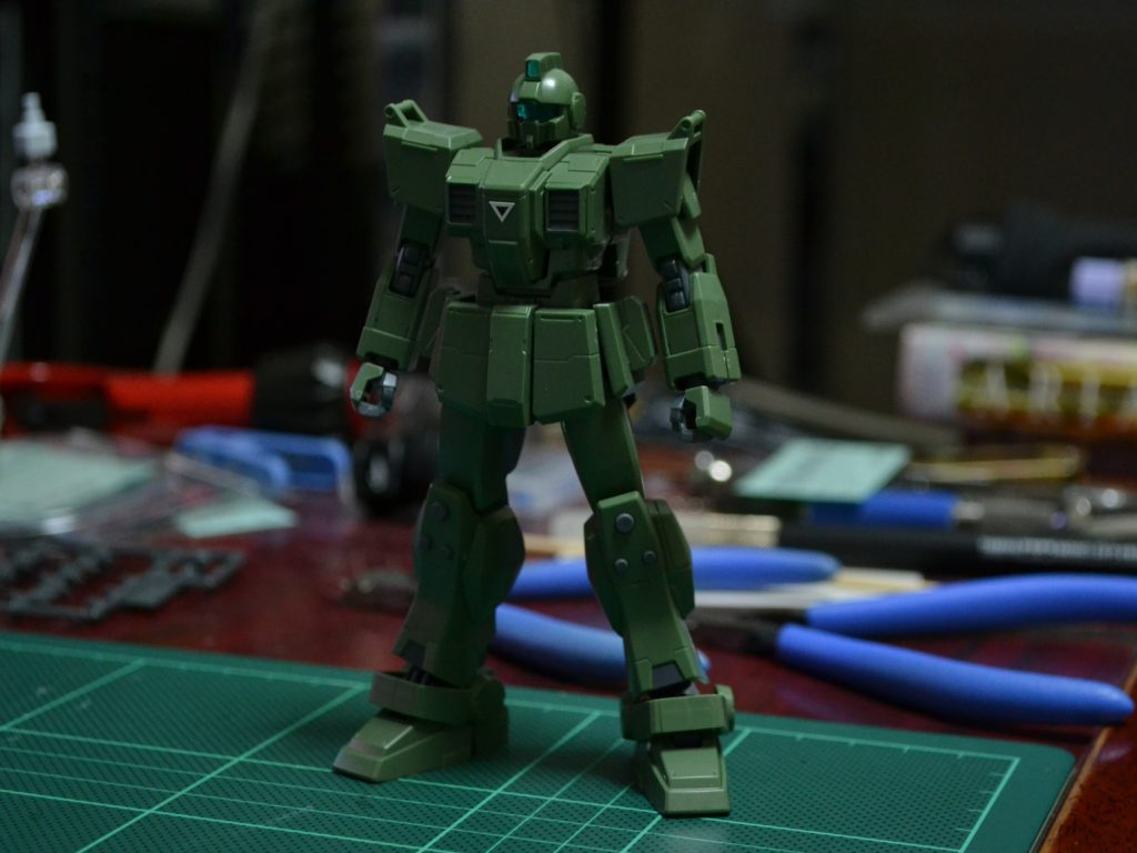 HGUC 1/144 RGM-79[G] ジム・スナイパー [GM Sniper] 正面
