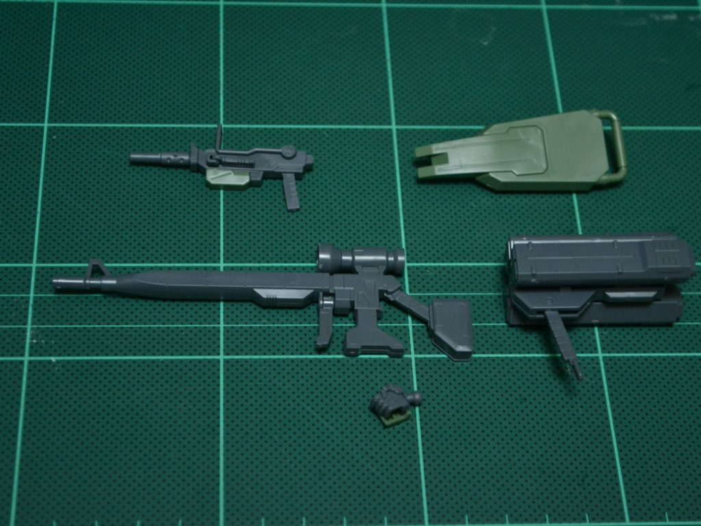 HGUC 1/144 RGM-79[G] ジム・スナイパー [GM Sniper] セット内容