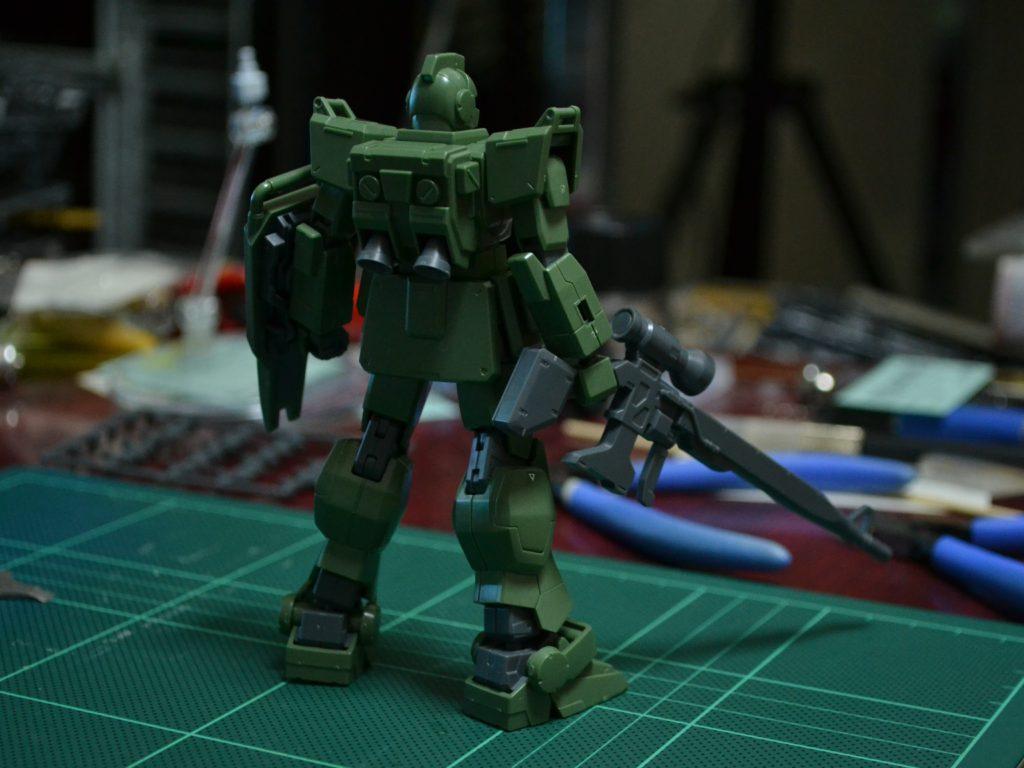 HGUC 1/144 RGM-79[G] ジム・スナイパー [GM Sniper] 背面