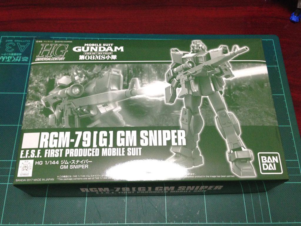 HGUC 1/144 RGM-79[G] ジム・スナイパー [GM Sniper] パッケージ