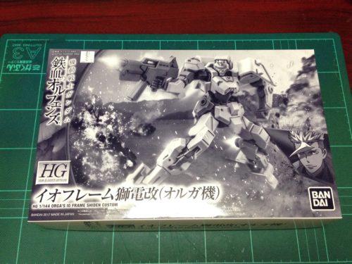 HG 1/144 STH-16/tc2 イオフレーム獅電改(オルガ機) [Orga's IO Frame Shiden Custom]